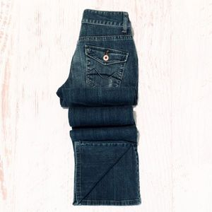 Pre- Mossimo Bootcut Distressed Jeans